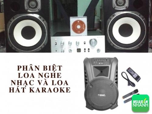 Sự khác biệt giữa loa nghe nhạc và loa hát karaoke