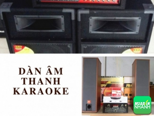 Dàn âm thanh Karaoke cho hoạt động giải trí gia đình