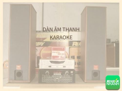 Dàn âm thanh Karaoke sử dụng cho gia đình, cho kinh doanh